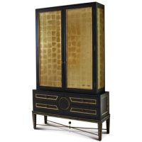 gilt cupboard