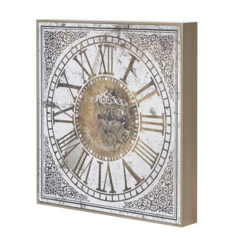 Large Ornate Clock with Gears