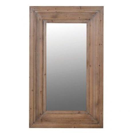 Tall Wood Frame Wall Mirror