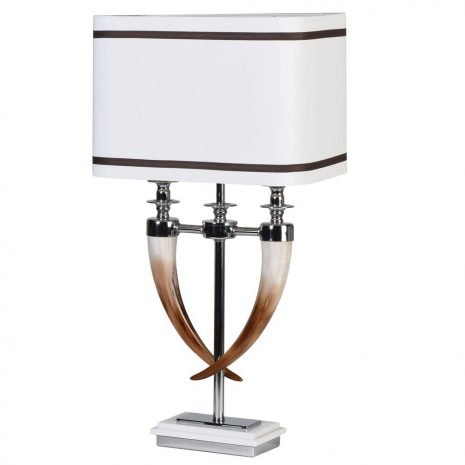 Twin Horn Lamp