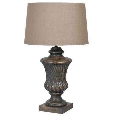 Wooden Trophy Lamp