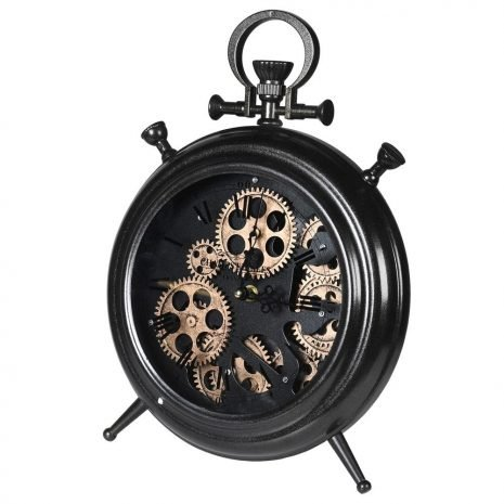 Gear Mantel Clock
