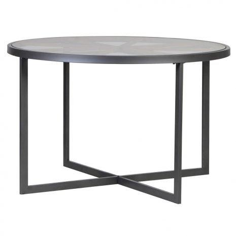 round iron table