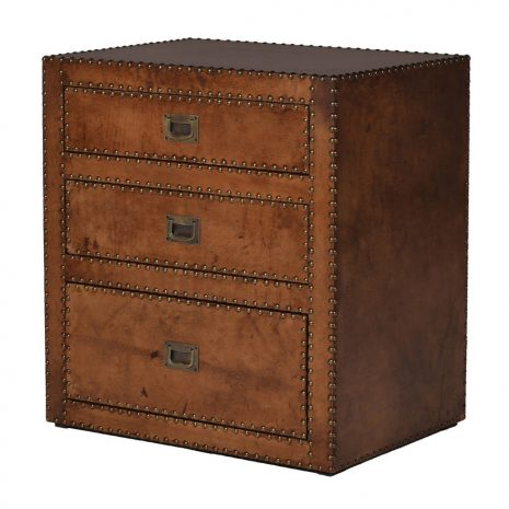 studded leather drawers