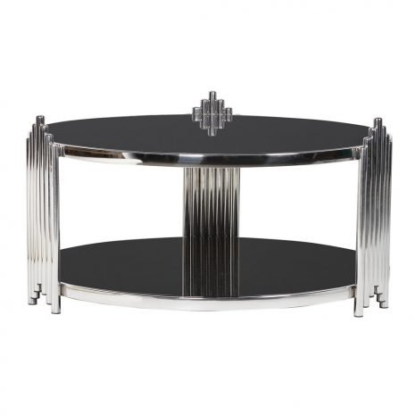 low deco style coffee table