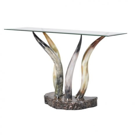 horn console table