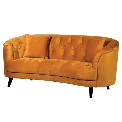 curved sunset sofa