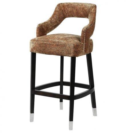 faux skin stool