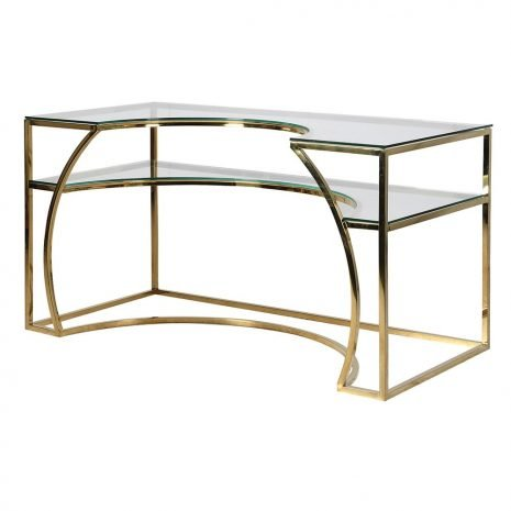 gold deco dressing desk