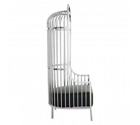 elia silver cage chair b