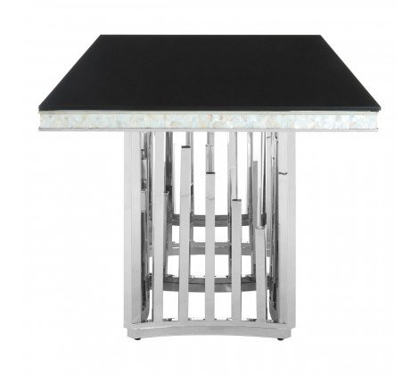 eliza silver dining table a